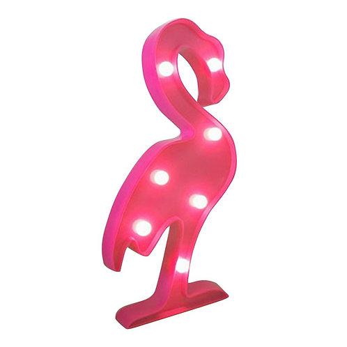 Lampe LED Flamant rose - décoration chambre enfant salon