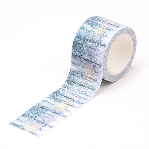 Masking tape glitter forêt enchantée 5m G063