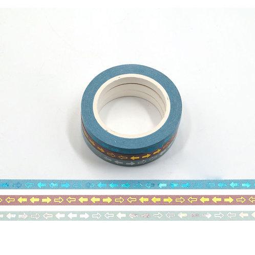 F156 - 3 Masking tape foil flèches