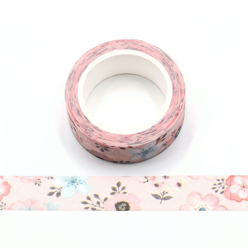 Paillettes glitter fleurs pastels