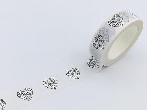 W411 - Coeurs origami DESIGN EXCLUSIF