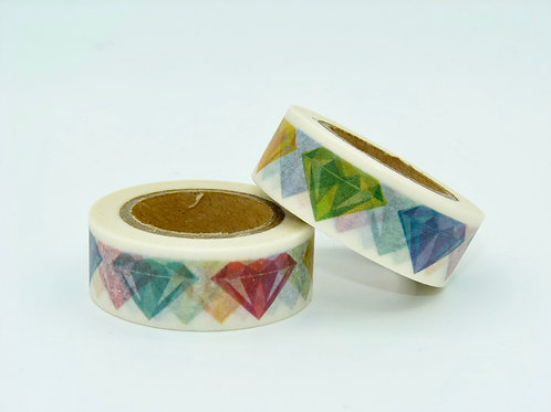 W193 - Masking tape diamants colorés