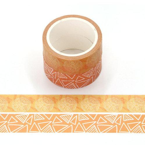 P007 - 2 Masking tape 5m parfumés odeur orange