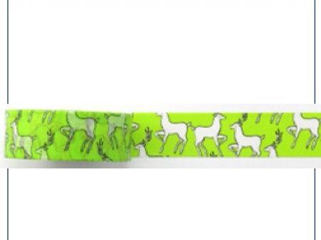 W405 - Masking tape biches / Vert flou