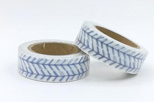 W396 - Masking tape design bleu