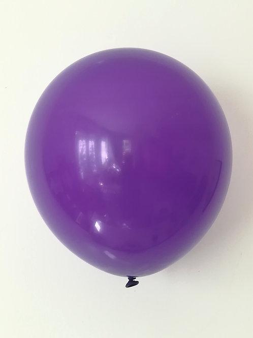 10 ballons latex violet 30 cm haute qualité