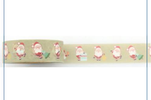 W357 - Masking tape  père Noël