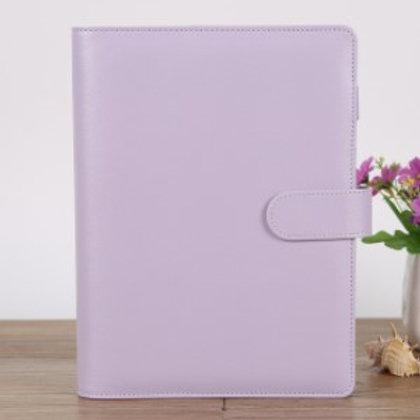 Planner A5 violet pastel - 6 anneaux -