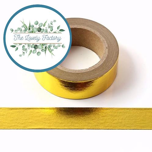 Masking tape Foil Doré 15mm x 10m