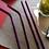 Thumbnail: 4 Pailles inox Violet 21 cm, courbées ou droites, zéro déchet