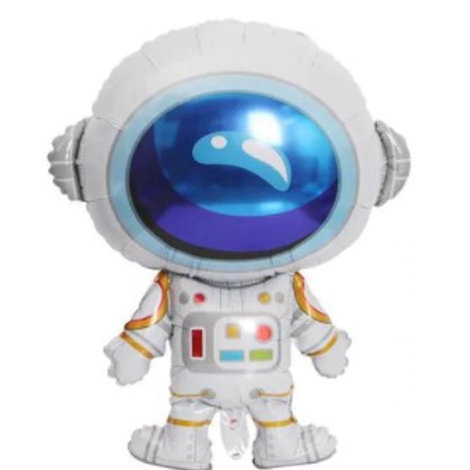 Ballon aluminium  mylar astronaute - remplissage hélium