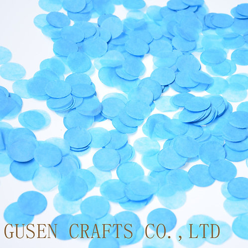 Confettis bleus gender reveal décoration mariage anniversaire ballon