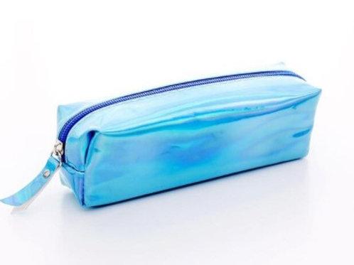 Trousse holographique - bleue