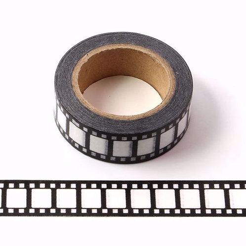Masking tape pellicule cinéma fun design  15mm x 10m