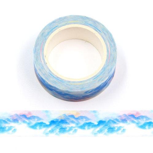 Masking tape 15 mm motif aquarelle