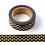 Thumbnail: F024- Masking Tape métallique 15mm  Noir coeurss dorés