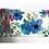 Thumbnail: W335 - Masking tape motif floral bleu