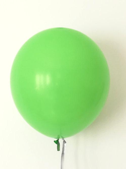 10 ballons latex vert  30 cm haute qualité