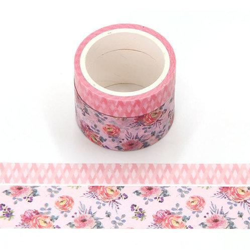 P006 - 2 Masking tape 5m parfumés odeur rose