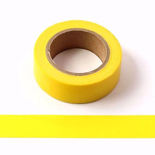 W083 -Masking tape uni 15mm  jaune