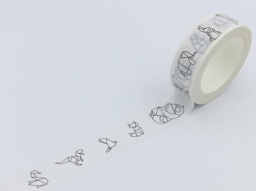 W412 - Animaux Origami DESIGN EXCLUSIF