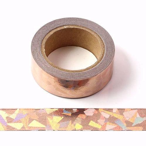 F126 - Masking tape foil laser bronze