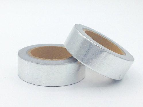 F027 - Masking tape foil Argent