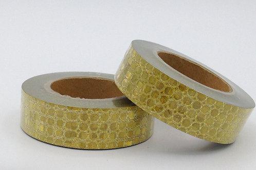 G005 - Masking tape paillettes dorées