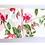 Thumbnail: W336 - Masking tape motif floral rose