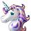 Thumbnail: Ballon mylar géant Licorne anniversaireI Giant unicorn ballon mylar