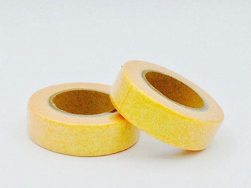 G054 - Masking tape paillettes glitter clémentine