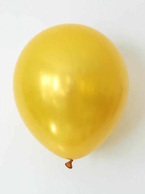 10 ballons latex or 30 cm haute qualité