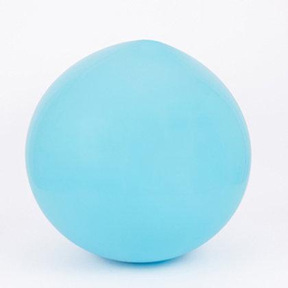 Ballon Latex Géant bleu clair 90 cm