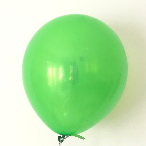 10 ballons latex vert foncé 30 cm haute qualité
