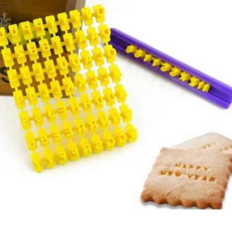 Accessoire Alphabet pour cookies