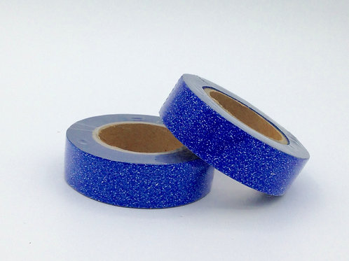 G043 - Paillettes glitter bleu marine