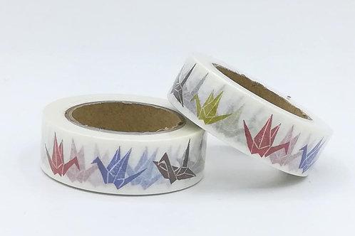 W393 - Masking tape origami