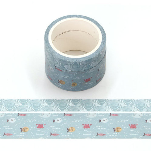P004 - 2 Masking tape 5m parfumés odeur océan