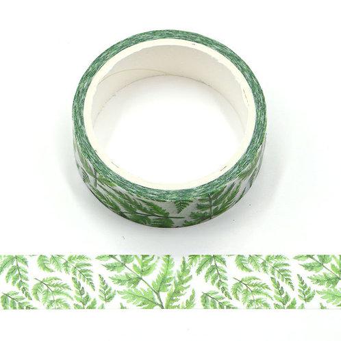 W494 - Masking tape 5m fleurs tropicales