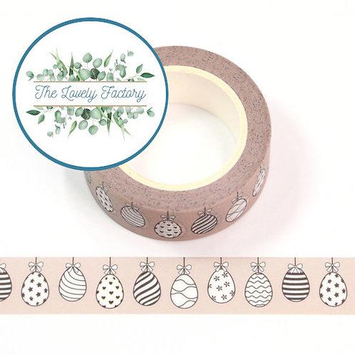 Masking tape oeufs de Pâques 15mm x 10m