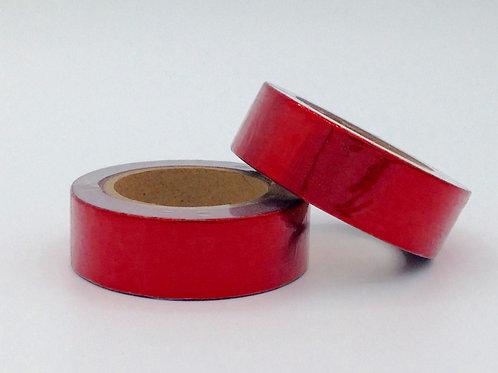 F082- Masking tape foil rouge