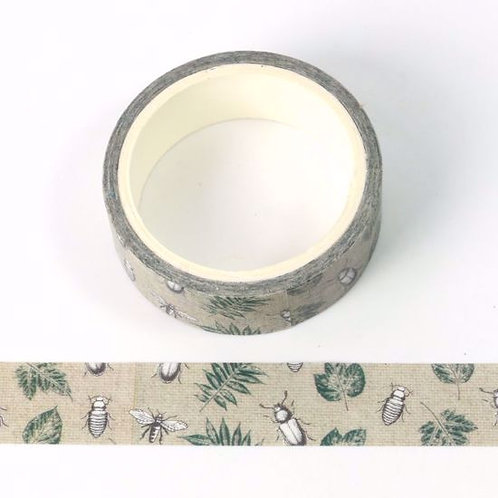 Masking tape insecte 15mm x 5m