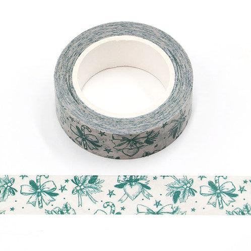 W533 - Masking tape 10m noeuds verts
