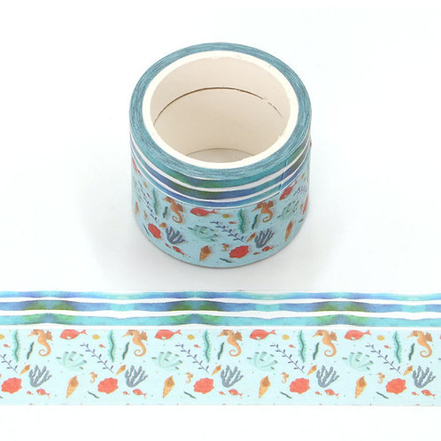 P001 - 2 Masking tape 5m parfumés odeur océan
