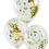 Thumbnail: Bannière de ballons EVJF or, rose gold et argent