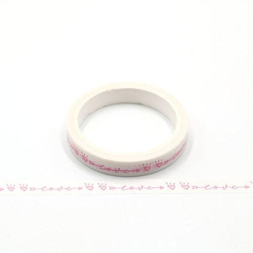 W486 - Masking tape 5m love 10mm