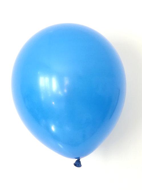 10 ballons latex bleu  30 cm haute qualité