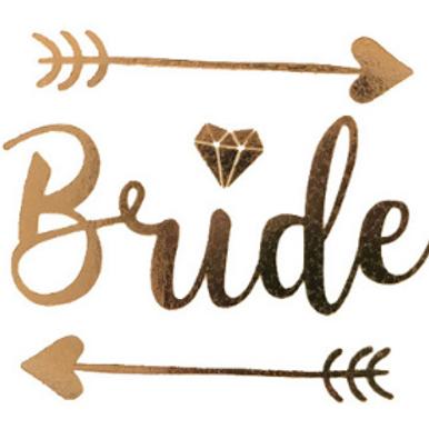 Tatoo temporaire Bride - EVJF mariée