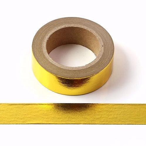 F001 - Masking tape métallique 15mm Foil Doré