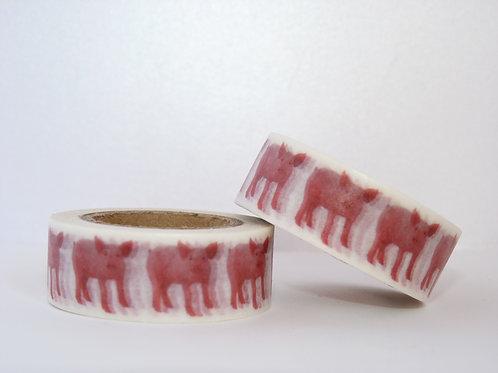 W144 - Masking tape cochons